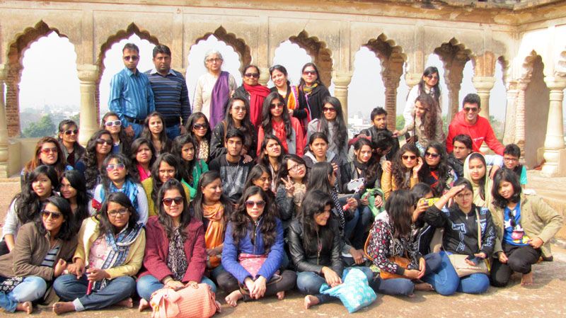 The Bhawanipur Design Academy Organised An Educational Excursion To Historical City Of Lucknow For Fashion And Interior Students