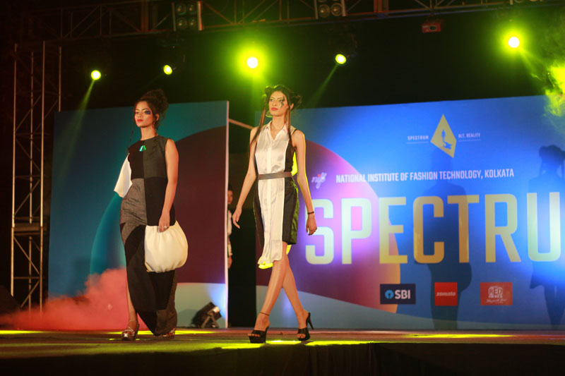 first position at spectrum nift fashion show the bhawanipur