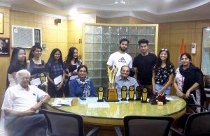 Participation at VERVE – Fest of JD Birla Institute
