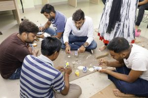 Workshop on Kantha and Woodcarving